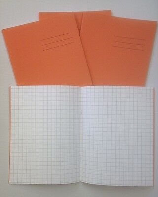 100 Hamelin Maths Exercise Books 1cm squared 80 pages A5 (229x178mm)