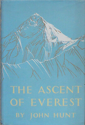 The Ascent of Everest by John Hunt, Hardcover, 1955