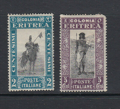 Two very nice mint Eritrea 1930 issues