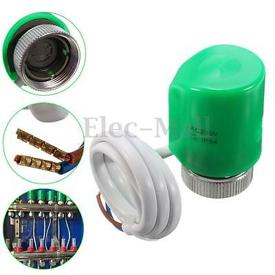 AC/DC 230V Thermal Electrothermal Actuator For Floor Heating System /Zone Valves