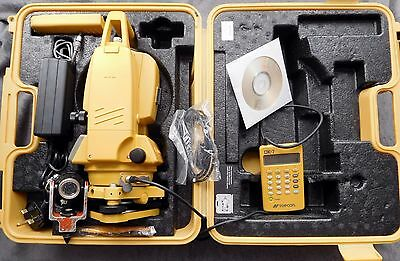 Topcon Gts-226 Total Station Calibrated,download Cable,manual,prism+ Dk-7 Keypad