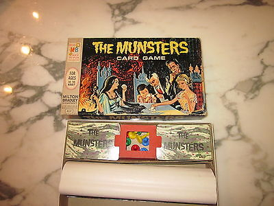 The Munsters Card Game 1964 complete