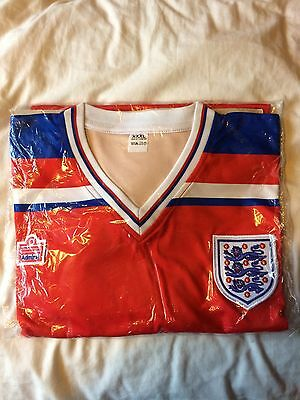 Brand New Admiral England 1982 World Cup Finals Away Football Shirt SIZE XXXL