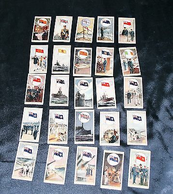 Wills Cigarettes Flags Of The Empire Full Set