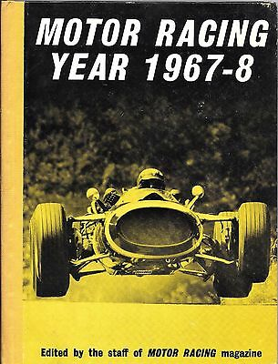 Motor Racing Year 1967-68 edited by the staff of Motor Racing Magazine. L@@K!.
