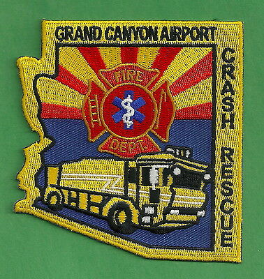 Grand Canyon Regional Airport Arizona Fire Department Arff Patch