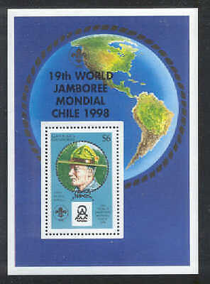 GRENADINES 1998 19th WORLD SCOUT JAMBOREE Chile Baden Powell SS