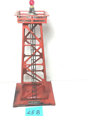 LIONEL #394 BEACON  RED ,METAL,working