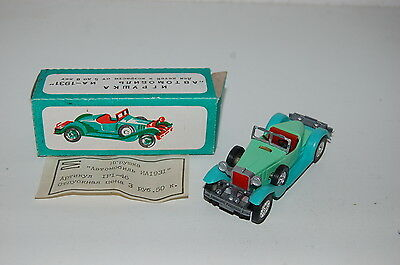 ИА-1931 Vintage Toy Car made In The USSR. With Box . Good Condition.