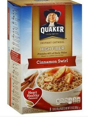 Quaker Oatmeal Maple & Brown Sugar Instant Hot Cereal