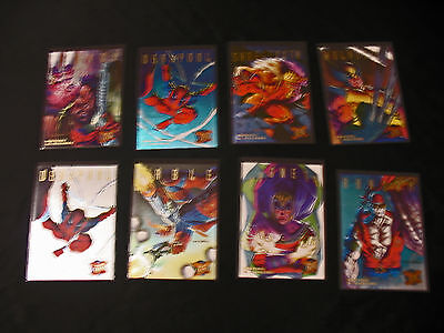 Marvel Limited Edition Artist David Devries Hunters and Stalkers 8 Lot 1994