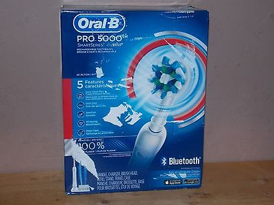 New Oral B Pro 5000 Smart Series From Braun Rechargeable Toothbrush