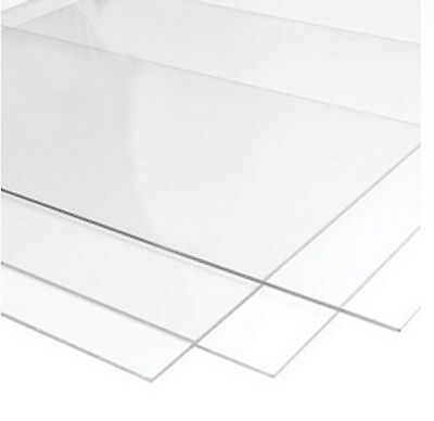 Perspex Styrene Glass for Photo Picture Frames 1.2mm Clear Transparent