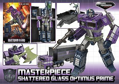 Ko Transformers Masterpiece Mp-10 Optimus Prime Shattered Glass Color Nuovo New