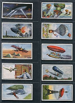 Rossi's Ice Cream 1963 History Of Flight 1St & 2Nd Trade Cards - Pick Your Card