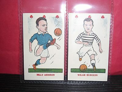 2 Kiddys Favourites Popular Players Cards Nos 24, & 25