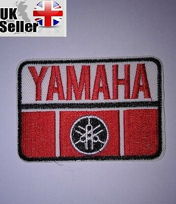 Yamaha Iron-on/sew-on Embroidered Patch Motorcycle Biker