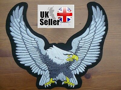 Eagle Wings Large Back Iron-on/sew-on Embroidered Patch Motorcycle Biker
