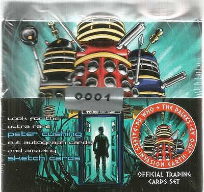 Dr Doctor Who Daleks 2150AD Sealed Full Box of Trading Cards - Box #0001
