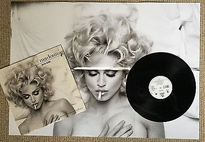 "Madonna - Bad Girl - Scarce 1992 UK Limited Edition vinyl 12"" + poster"