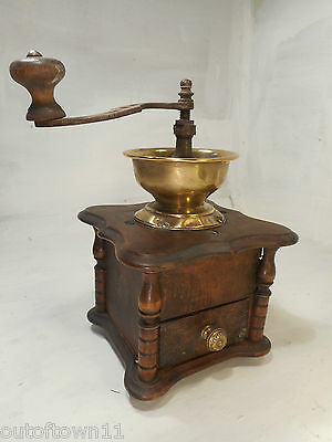Vintage French Coffee Grinder   ref 2492
