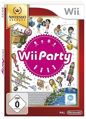 Wii Party  (nur Software) (Selects)       Nintendo Wii       !!!!! NEU+OVP !!!!!