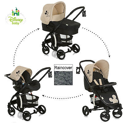 New Hauck Disney Classic Mickey Mouse Charcoal Miami 4 S Trio Set Travel System