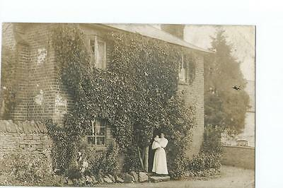 Herefordshire RP of a house at Michaelchurch Escley PU there in 1912