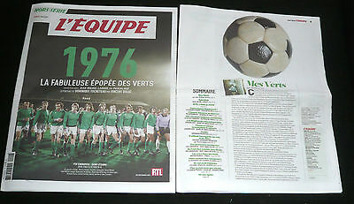 Football Asse St Etienne Динамо Київ Bayern Rangers Liverpool Champions Cup 1976