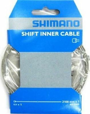 Shimano Gear Shift Bicycle Inner Cable 1.2mm x 2100mm