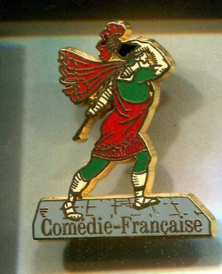Rare Pins Pin's .. Art Livre Litterature Theatre Moliere Comedie Francaise ~Cw