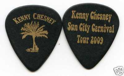 KENNY CHESNEY 2009 Sun City Carnival Tour Guitar Pick!!! custom concert stage