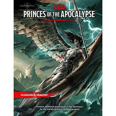 Dungeons & Dragons: 5th Edition: Elemental Evil - Princes of the Apocalypse