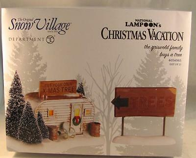 Dept 56 National Lampoon's Christmas Vacation The Griswold Family Buys a Tree
