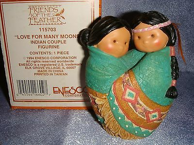 Friends of the Feather - 115703 -MIB- LOVE FOR MANY MOONS - Indian Couple
