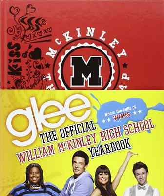 Glee: The Official William McKinley High School Yearboo - Hardcover NEW Debra Mo