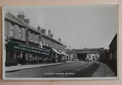 RP Postcard POSTED 1961 CHALVEY (WEST) SLOUGH BUCKINGHAMSHIRE