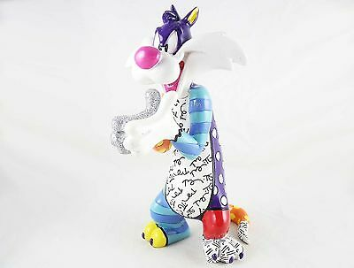 "Sylvester the Cat - ""Sufferin' Succotash"" - Looney Tunes by Britto - Resin - NIB"