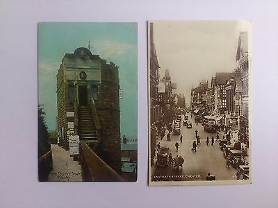 2 Old Postcards Chester Cheshire