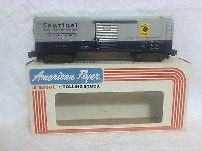 American Flyer B & O Sentinel Box Car 4-9702