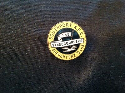 Vintage / Early SOUTHPORT  AFC, Supporters !  FOOTBALL Club Badge