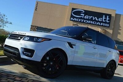 2016 Land Rover Range Rover Sport  2016 LAND ROVER RANGE ROVER SPORT SUPERCHARGED DYNAMICA! CARFAX CERTIFIED!