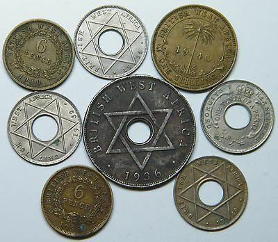 WCA British West Africa Coins 1932 - 1949 Lot # S17