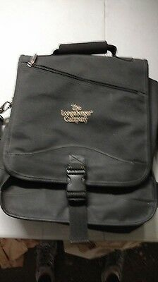 Longaberger Retired Award and Incentive Black Backpack, only given to advisors!