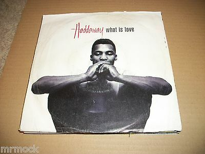 "Haddaway- What Is Love Vinyl 7"" 45Rpm Ps"