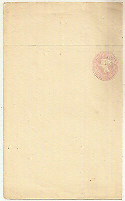 GB 1841 1d PINK WRAPPER w/DICKENSIAN PAPER EMBOSSED POSTAL STATIONERY MINT