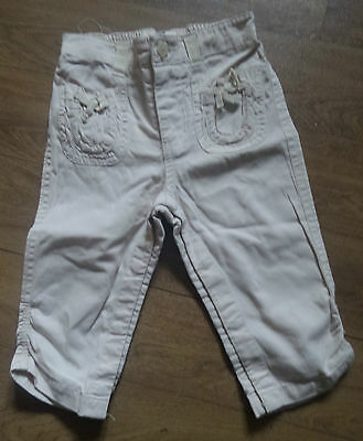 Baby Gap 12 - 18 months trousers good worn condition Ruched at bottom side legs