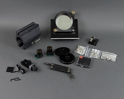 Lot of Optical Bench Goodies - Mirrors, Lenses, Mounts