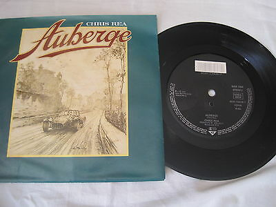 "Chris Rea - Auberge - 7"" P/S Single Record - YZ555"