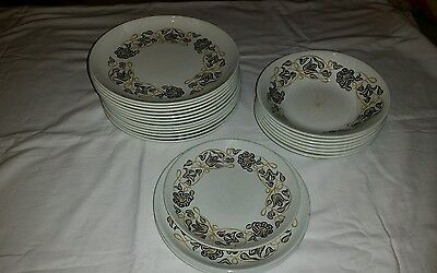 poole pottery plates and dishes job lot